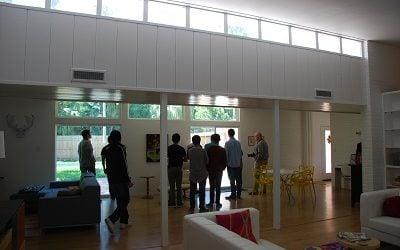 Harlingen High School Level Students Tour Midcentury Modern Homes