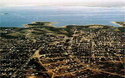 Aerial view of Nueva Ciudad Guerrero