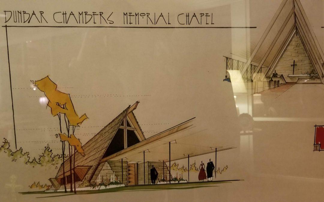 Dunbar Chambers Memorial Chapel in Houston, Texas.